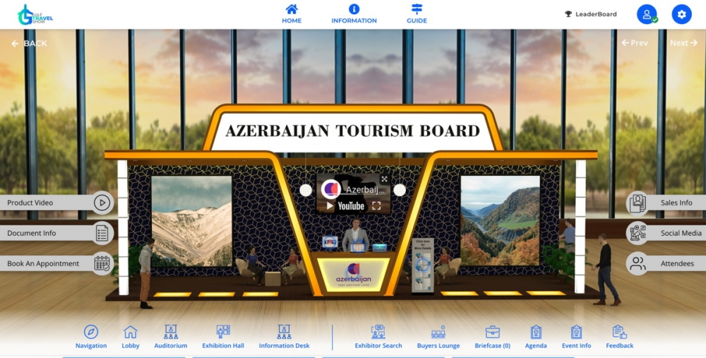 Karabakh`s tourism potential highlighted at Gulf Travel Show in Dubai